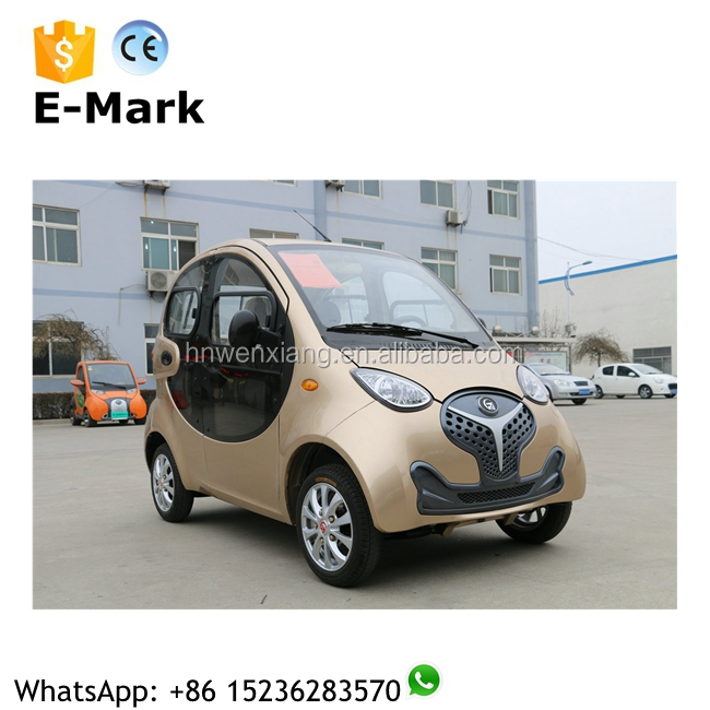 China electric vehicle manufacturer new design cheap 4-wheel electric car for old people on sale