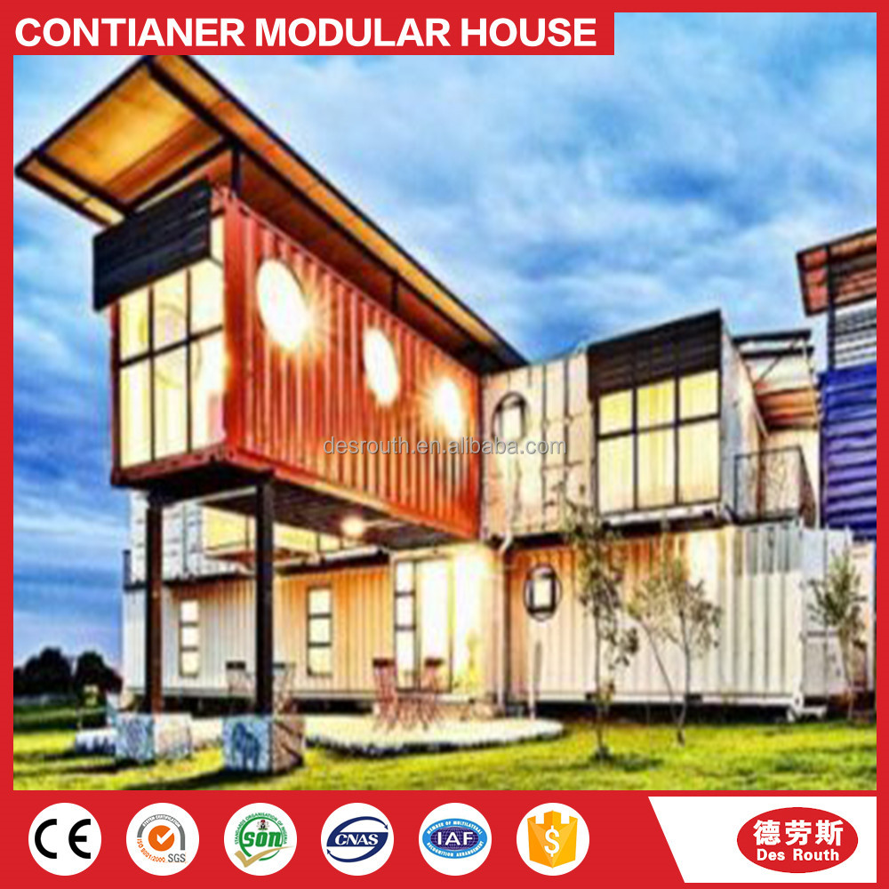 Self Assemble Finished Prefab Container House