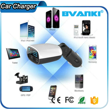 Sellers Only 5V 3.4A Handsfree Car USB Charger DC 12V Quick Charge Dual USB Multiple Mobile Phone Car Charger