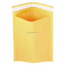 Gold kraft paper customized bubble mailers padded envelopes
