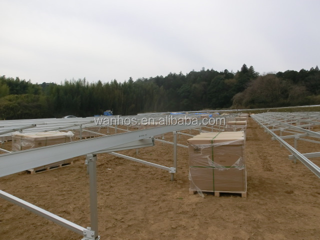Ground Screw Foundation Solar Mounting System