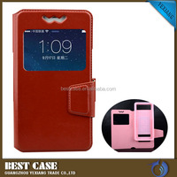 Mobile phone accessories universal smart leather case flip cell phone cover