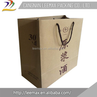 China Wholesale Custom Inventory Single Wine Bottle Bags Surplus