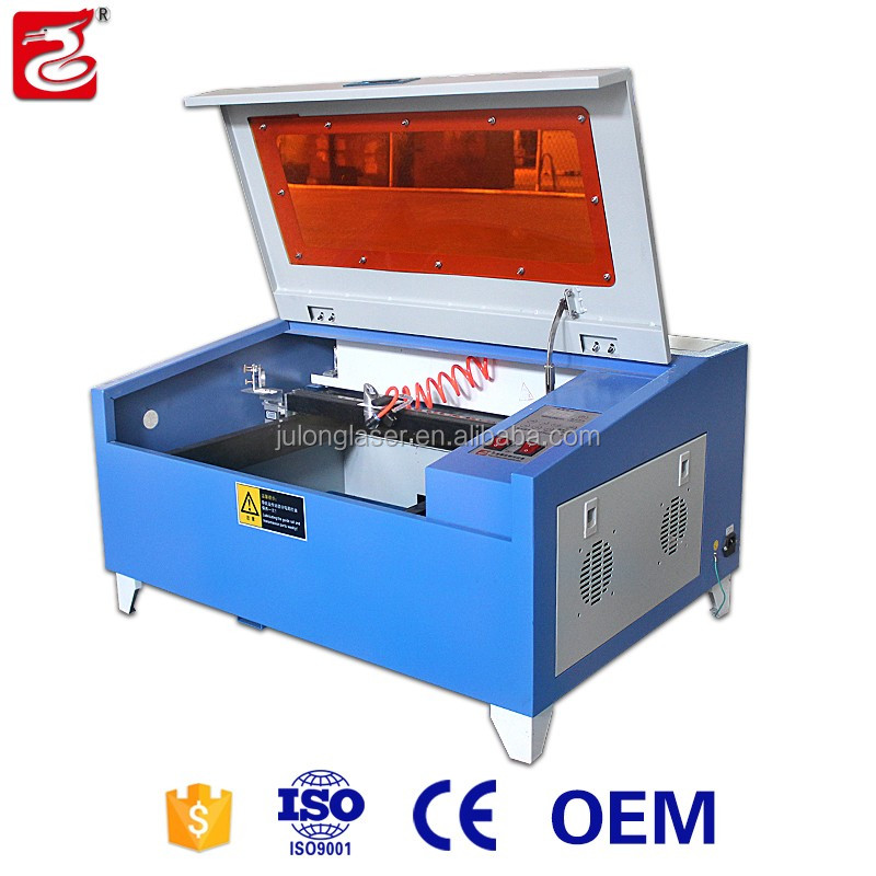 Mini high precision silicone bracelet laser engraving machine with manual up&down worktable