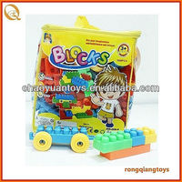 Plastic cube building block for108 PCS BK9039068-4