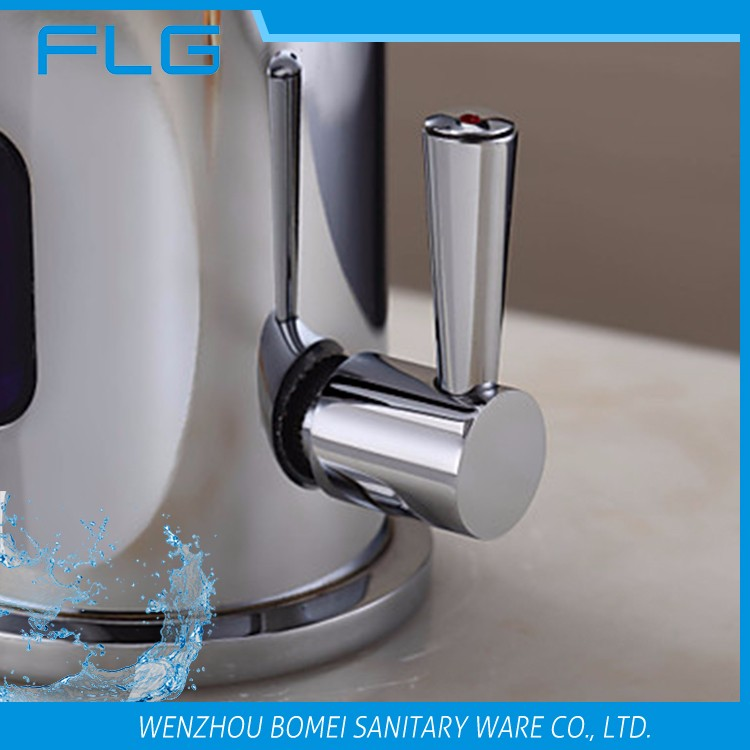 FLG bathroom basin automatic mixers taps sensor faucet