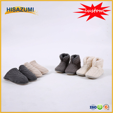 Hisazumi Knitted Indoor Men Women's Boot Slipper