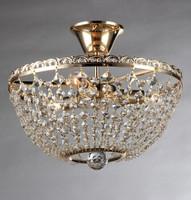 Golden Decoration lamp/ Indian ceilin light/ Flush mounted crystal ceiling light fixtures