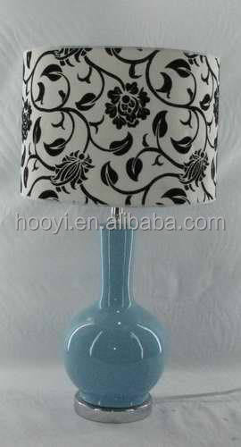 Modern fabric table lamp Cloth Crafts lamp