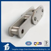 Top brand pellet coated tooth conveyor chain