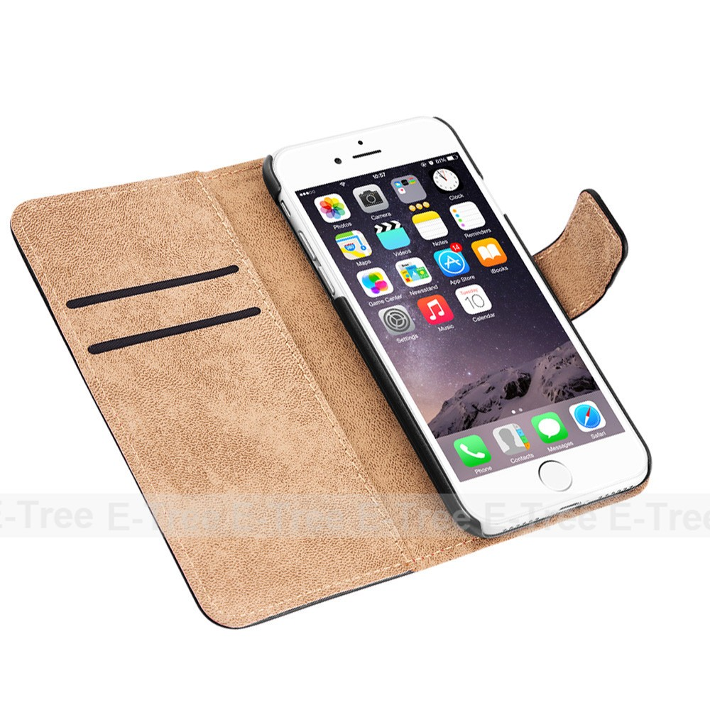 For iphone 7 Flip leather case, Stand case for iphone 7 leather wallet cover, for iphone 7 mobile phone case