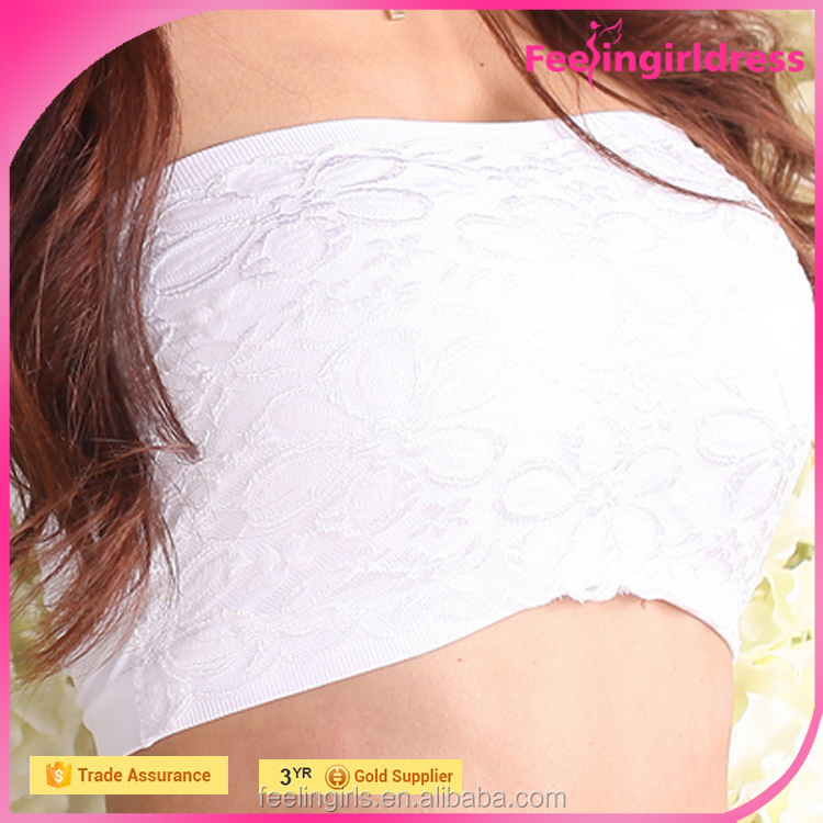 Cheap Padded Lace Crochet Strapless Bra Images Hot Sex Girl Bra Model
