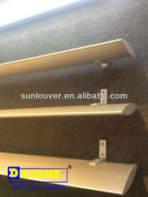 Electric and shock-proof and horizontal and vertical sun louver from manufactory