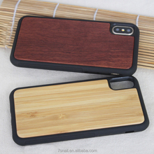 Best Price Wood Case Bamboo, for Iphone Case Wood, for iPhone X Wood Case TPU
