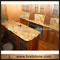 Yellow Verniz Tropical Granite Kitchen Countertops