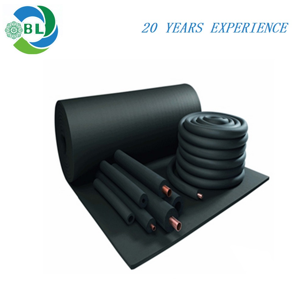Thermal insulation material /heat preservation /rubber foam tube/pipe