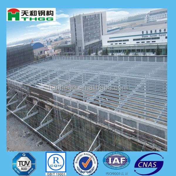China Prproducts Metal Steel Space Frame Poultry Farm Prefabricated Chicken House