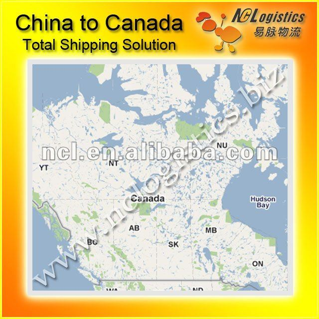 International shipping service from china to Canada