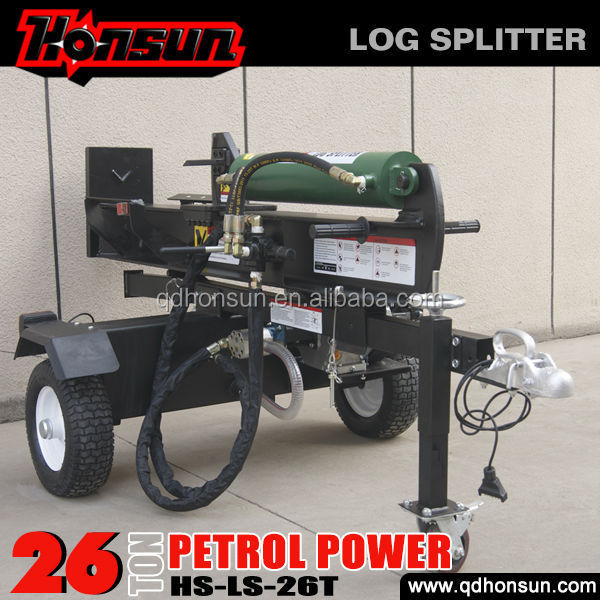 CE EPA certificate 6.5hp 200cc Honda GX200 gas engine horizontal vertical 26t hydraulic oil for log splitters