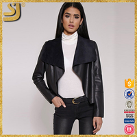 2016 high fashion real leather clothing newly leather jackets