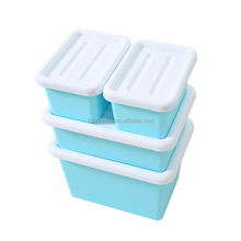 Wholesale japanese eco-friendly plastic storage box kitchen sitting room containers