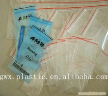 LDPE recyclable Ziplock clear flat Bag with high quality