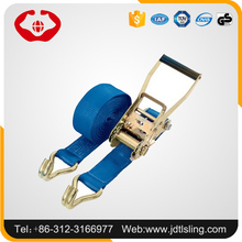 Customized Polyester 50mm 5ton Ratchet Tie Down with No Hook