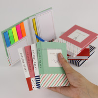 Korean Creative Tower Hardcover Combine Memopad