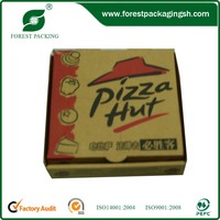FASHION BROWN PIZZA BOXES PACKAGING BOX