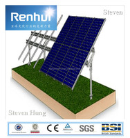 solar pitched roof racking system and power station solar mounting system