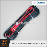 High quality cheap price Hand New dyneema 4.8mmX6M winch rope