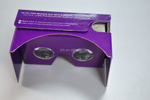 3D VR box 3d glasses virtual reality vr box Paper cardboard