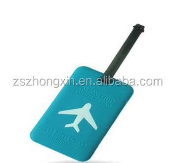 Colorful Leather Luggage Tags