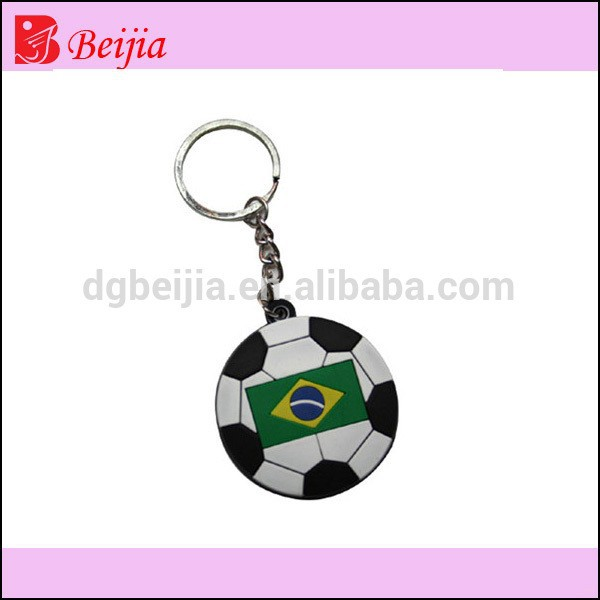 Hot key ring app football keychain key fob for crazy fans