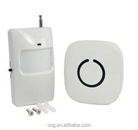 Wireless Welcome Voice Doorbells,Intelligent Door Alarm Door Entry Chime