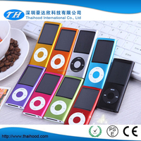 Nine Colors 4th Generation 1.8inch Mp4 Player with Camera FM Touch Key