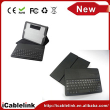 Removable leather case bluetooth wireless keyboard for ipad air 5 portable bluetooth keyboard