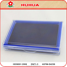 transparent case stamp pad plastic office using refill ink stamp pad