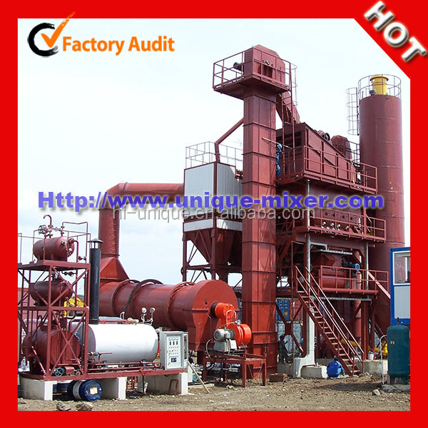Ready mixed hot mixing and recycling marini asphalt plant