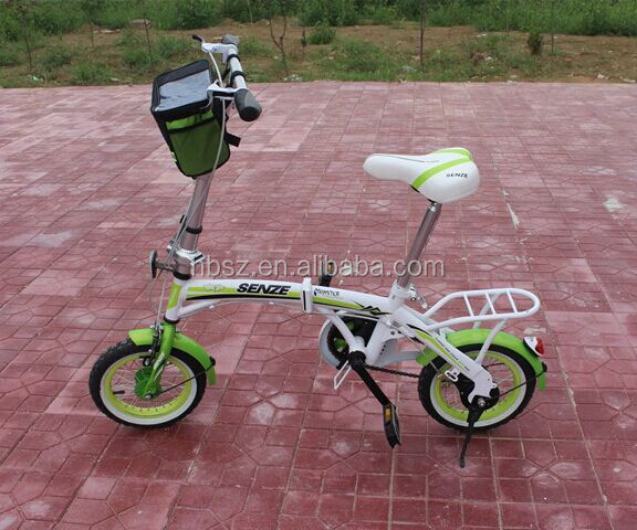 Factory supply single speed 12 inch cheap folding bike