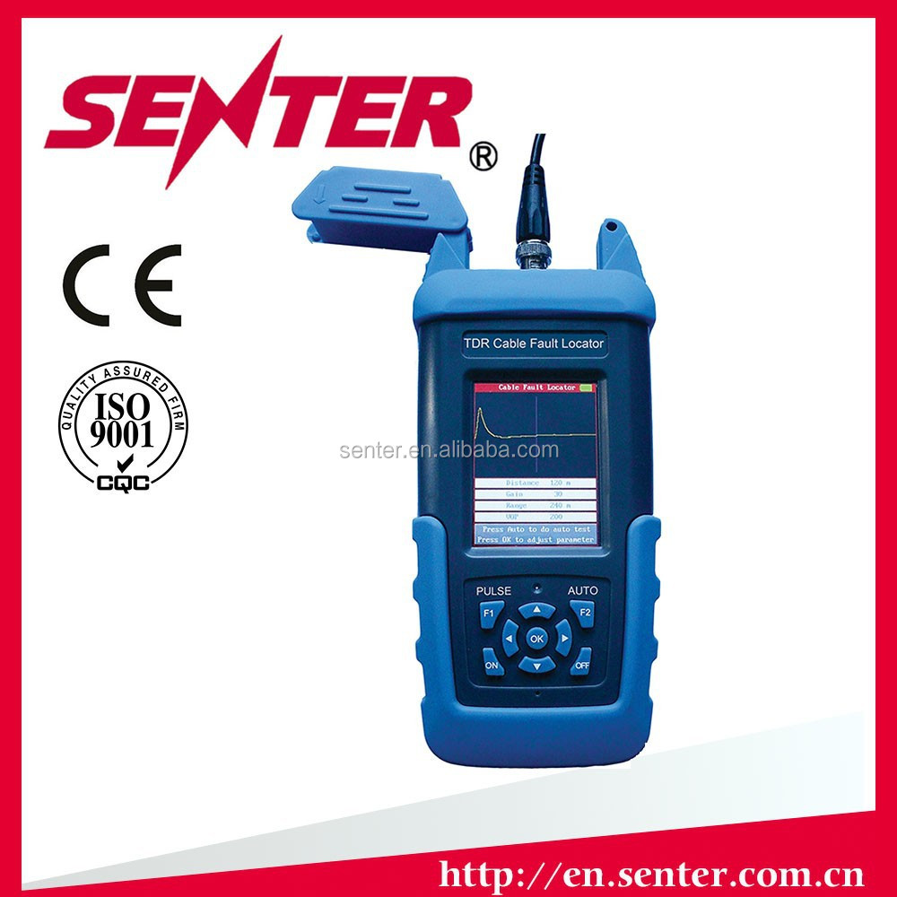 Cable Fault Locator On Line : St handheld tdr cable fault locator power
