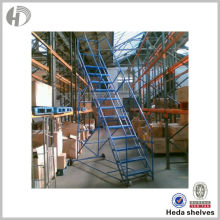 Lowest Price Customizable Industrial Platform steel step ladder