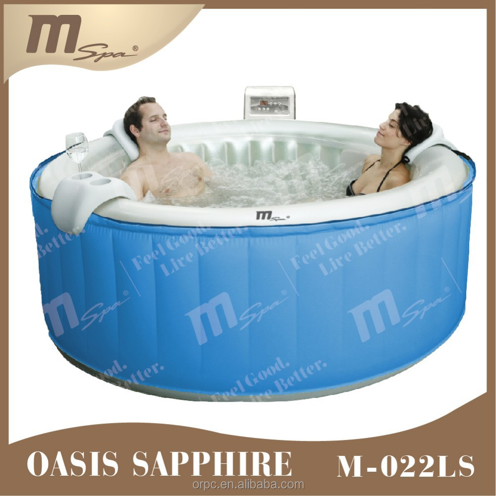 Inflatable portable spa indoor hot tub /air bubble massage whirlpool Oasis M-022LS Sapphire