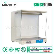Airkey Best Price Vertical laminar flow hood/clean bench with UV lamp