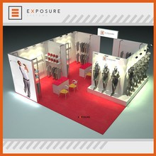 M-Series Modular Advertising Used Aluminum Extrusion 20x20 Trade Show Clothing Booth