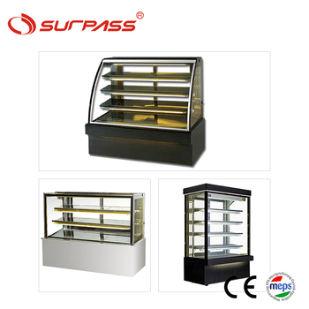 Marble-base pastry freezer cake showcase display refrigerator price