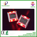 Double ended reflector solar power road marker for wholesale,led solar cat eyes road stud