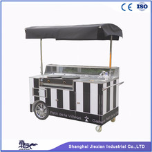 JX-CC180 Mobile churros cart coffee ice cream bikes tricycle pancakes crepe waffle car food vending carts