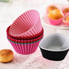 Wholesale Cheap Price Muffin Cup Silicone Cake Tools Baking Molds