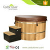 Wholesale Good quality people Chinese Red cedar electrical hot tub